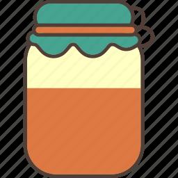 food, honey, jam, jar, sweet icon