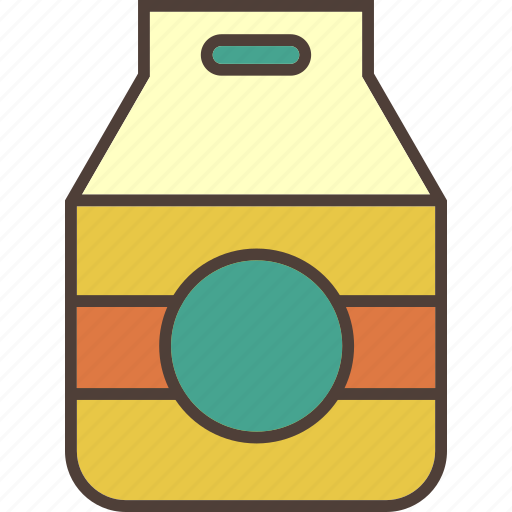 Bottle, dairy, dairy product, drink, juice, milk icon - Download on Iconfinder