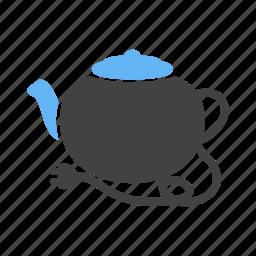 breakfast, coffee, cook, hot, kitchenware, pot, tea kettle icon
