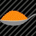 beluga, caviar, eggs, fish, orange, roe, salmon