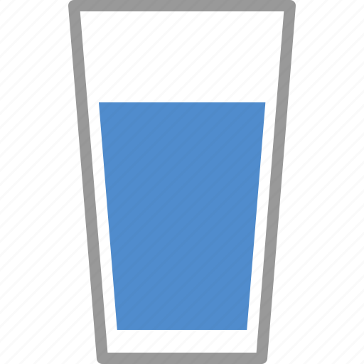 beverage, cup, drink, drinking, glass, liquid, water icon