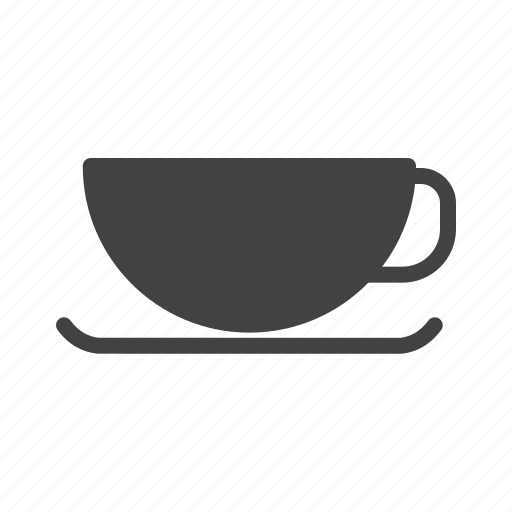 coffee, cup, drink, mug, saucer, tea, utensils icon