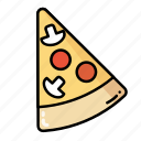 cooking, fast food, food, pizza icon
