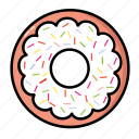 cooking, donut, food, meal, sweets icon