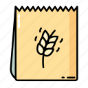 bread, cooking, food, healthy, package icon