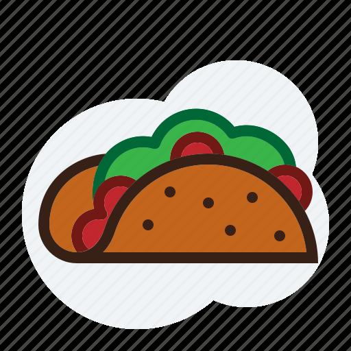 food, mexican, taco icon