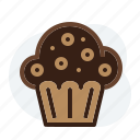 cup cake, madeleine, muffin, sweet icon