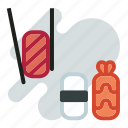 asian, food, japanese, sushi icon