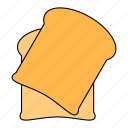 bread, breakfast, food, kitchen icon
