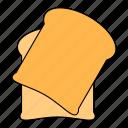 bread, breakfast, food, kitchen