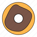 dessert, donuts, food, meal icon