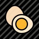 boiled, egg