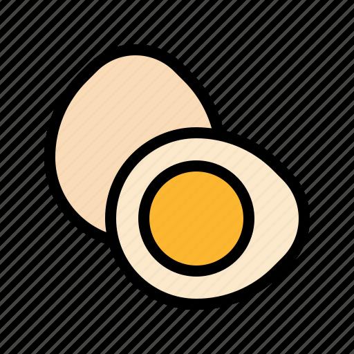 boiled, egg icon