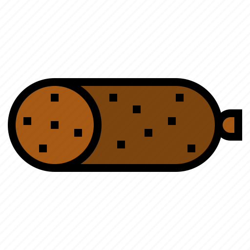 meat, pepperoni icon