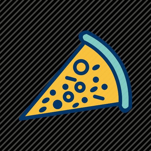 piece, pizza, restaurant, slice icon