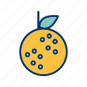 citrus, fruit, healthy, juice, orange icon