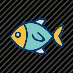 animal, fish, nature, pet, swimming icon