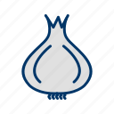 cooking, food, ingredient, kitchen, onion, vegetable icon