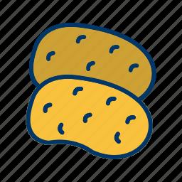 food, fries, meal, potatoe, potatoes, vegetable icon