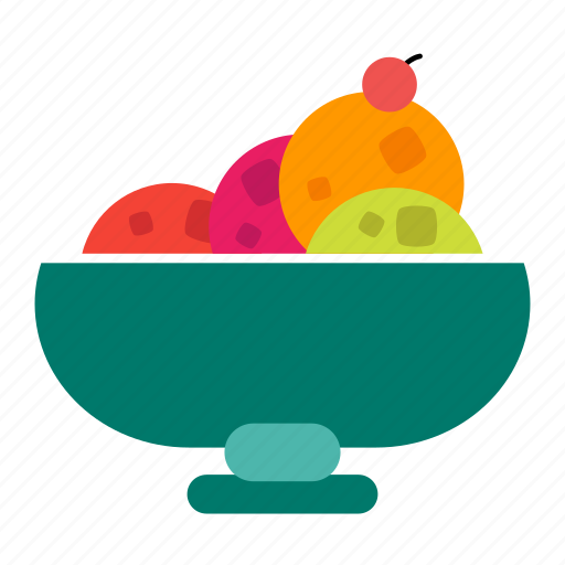 dessert, food, ice cream, sweets icon