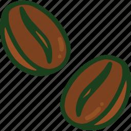 bean, coffee, food icon
