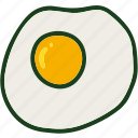egg, food, fried, omelette icon
