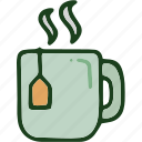 beverage, food, hot, tea icon