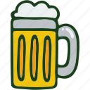 alcohol, beer, beverage, drink, food icon