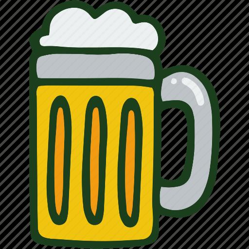 alcohol, beer, beverage, drink, food icon