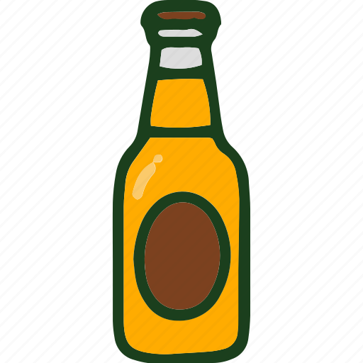 beverage, bottle, drink, food icon