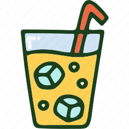 beverage, drink, food, lemonade icon