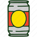 beverage, can, food, soda icon