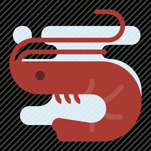 prawn, seafood, sellfish icon