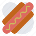 fast food, hot dog, sausage, wiener icon