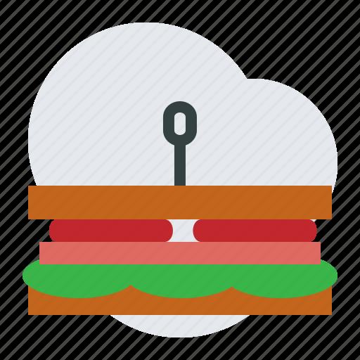 jam, lettuce, sandwich, tomatoe icon