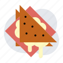 cheese, jam, sandwich icon