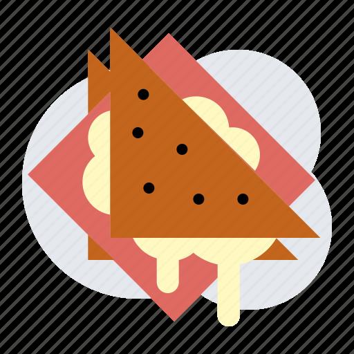 cheese, jam, sandwich icon