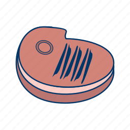 barbecue, bbq, beef, grill, meat, restaurant, steak icon