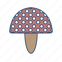 food, fungi, mushroom, mushrooms, plant, vegetable icon
