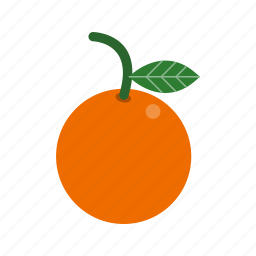citrus, food, fruit, orange icon