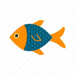 fish, food, sea, snapper icon