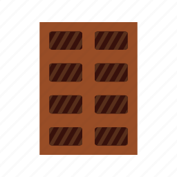 chocolate, food, snack, sweet icon