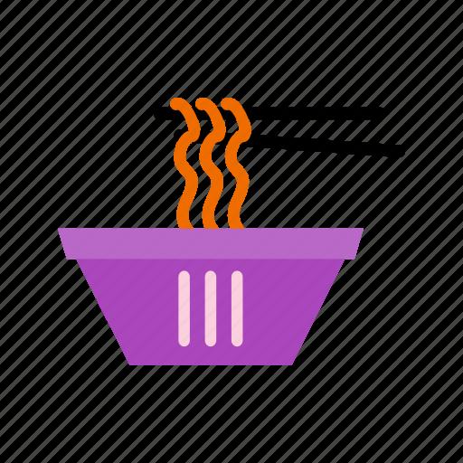 bowl, noodle, noodles, spaghetti icon