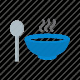 meal, pot, soup, spoon icon