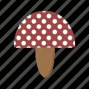 mushroom, fungi, mushroom plant icon