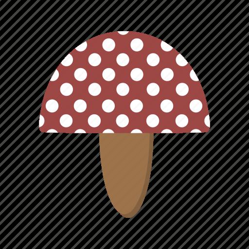 food, fungi, mushroom, mushroom plant icon