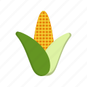 corn, food, maize, plant icon