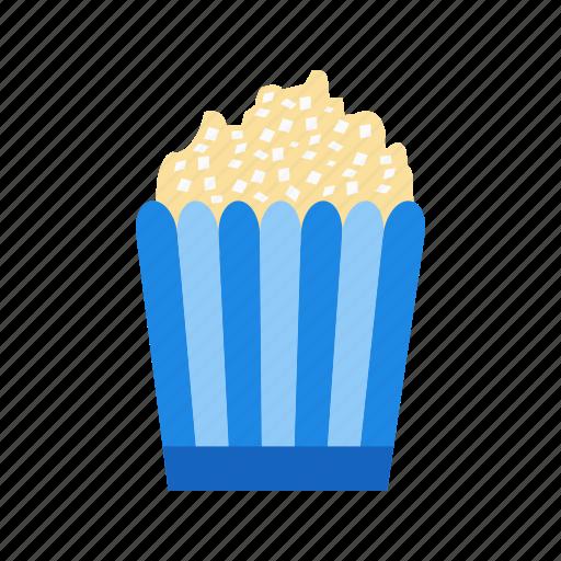 fast food, popcorn, snack icon