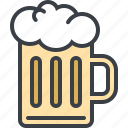 alcohol, beer, drink, food, mug icon