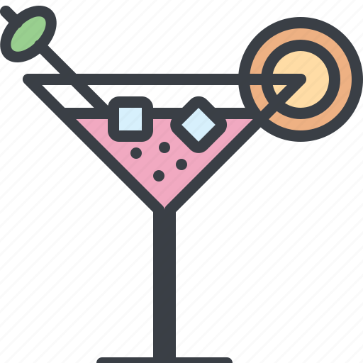 alcohol, cocktail, drink, food, ice, juice icon